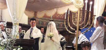 Mazeltov a la famille de Lisa
